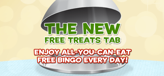 The New Free Treats Tab